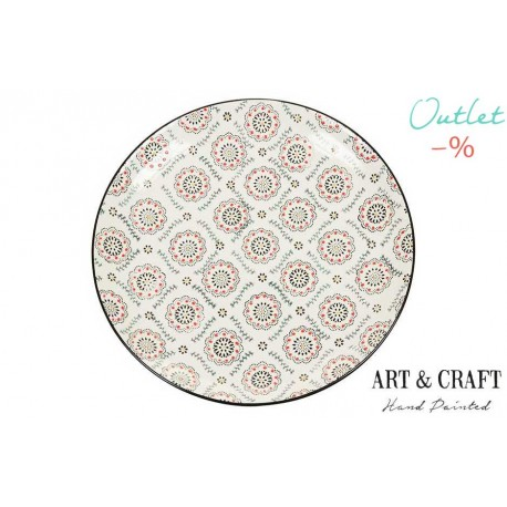 PLATO ART & CRAFT NARANJA 26