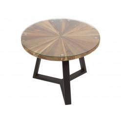 Mesa de centro Eco-chic Sun redonda
