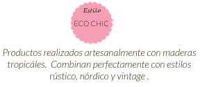 Estilo Eco chic Connatrure