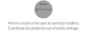 Estilo industrial connature