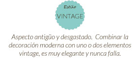 Estilo vintage connature